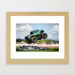 Swamp Thing airborne Framed Art Print