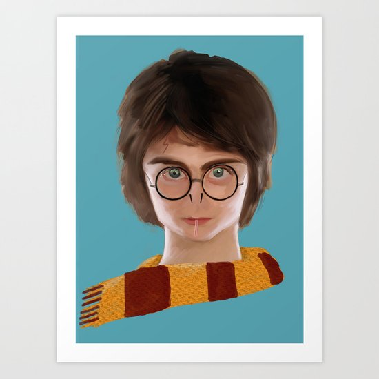 Pottermort Art Print