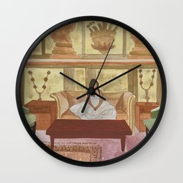 VINTAGE CHICK Wall Clock