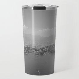 Black and White Acapulco Travel Mug