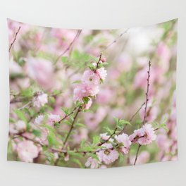 Spring in Pink #3 Wall Tapestry