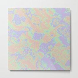 Rainbow Oil Slick Metal Print