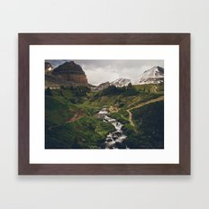 Canadian Rockies Framed Art Print