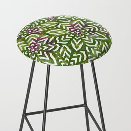 I don't need to improve - Green and pink Bar Stool
