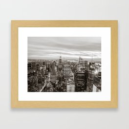 Infinite - New York City Framed Art Print