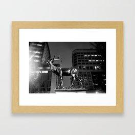 Buck Shot Framed Art Print