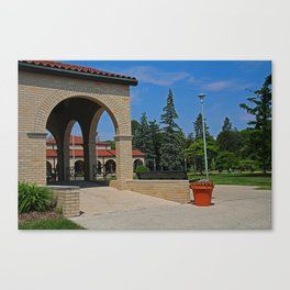 Lourdes University in the Spring II Canvas Print