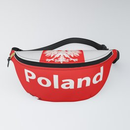 Poland map Fanny Pack