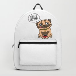 Pugs & Coffee Backpack