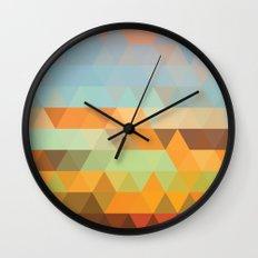 Simple Sky - Sunset Wall Clock