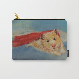 Hamster Superhero Carry-All Pouch