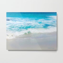 Jervis Bay Surf Metal Print