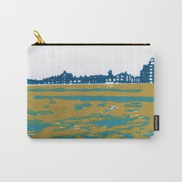 Seaview Kingsway in Turquoise Carry-All Pouch