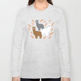 The Alpacas Long Sleeve T-shirt