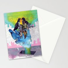 Never for Money Always for Love Stationery Cards