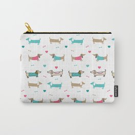 Dachshunds love Carry-All Pouch