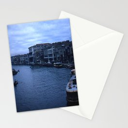 Vintage Color Photo * Kodachrome * 1950's * View from the Rialto Bridge * Venice Stationery Cards