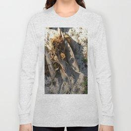 Ambiance Macré 2 . Le lion des sables se réveille doucement Long Sleeve T-shirt