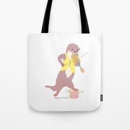 Fiddle Otter Tote Bag