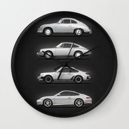 Evolution Of The 911 Wall Clock
