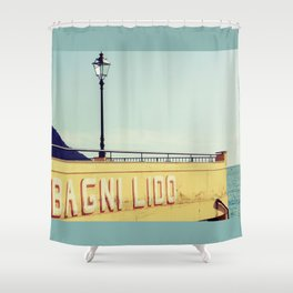 Bagni Lido Shower Curtain