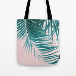 Palm Leaves Summer Vibes #1 #tropical #decor #art #society6 Tote Bag