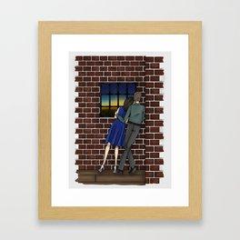FitzSimmons Sunrise Framed Art Print