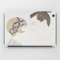 great gatsby iPad Cases featuring The Great Gatsby by Becky Astbury