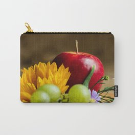 An autumn gifts still life on the blurred background Carry-All Pouch