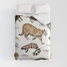 Animals of the Sonoran Desert Comforters