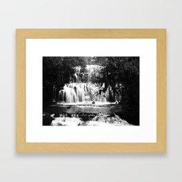Purakanui Falls - Catlins, New Zealand Framed Art Print