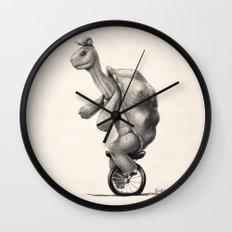 Slow Day (B+W) Wall Clock