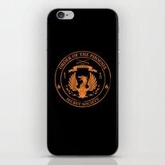 Order of the Phoenix - Official Secret Keeper Member Design iPhone & iPod Skin