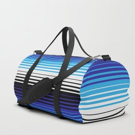 Deconstructed Serape in Blue Duffle Bag