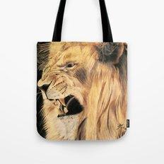 A Lion's Voice Tote Bag