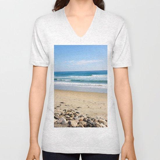 Rocky Beach Unisex V-Neck