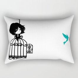 Colibri Cage Rectangular Pillow