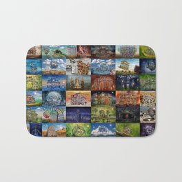 Super Collage - House Bath Mat