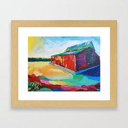 Barn. Framed Art Print