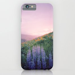 Wild Flowers in the Big Horn Mountains iPhone Case