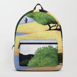 Sandbanks on the Loire river pastoral landscape painting by Felix Vallotton Backpack