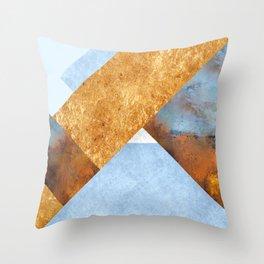 Modern Mountain No5-P3 Throw Pillow