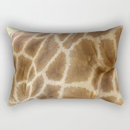 skin of a giraffe Rectangular Pillow
