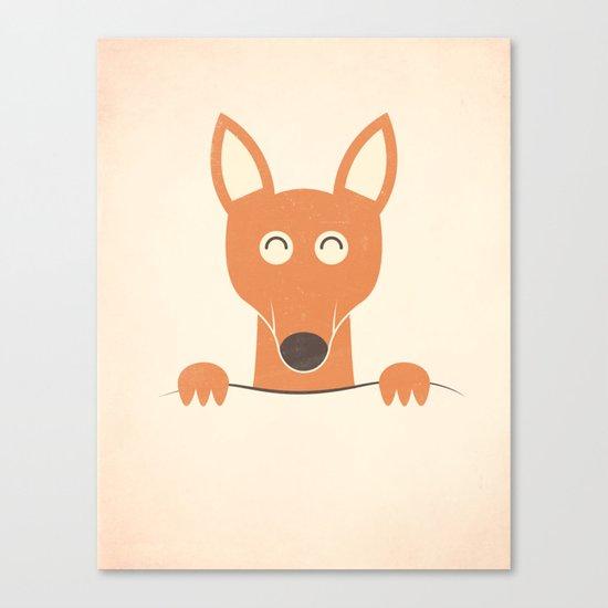 Pocket Kangaroo Canvas Print
