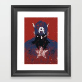 The Captain Framed Art Print