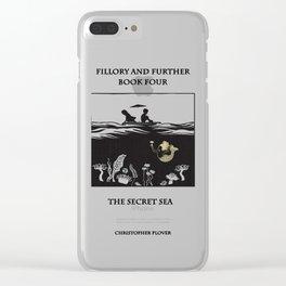 The Secret Sea Clear iPhone Case