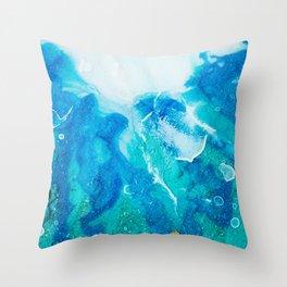 "Tides of Change | ""Split Tide"" (2) Throw Pillow"