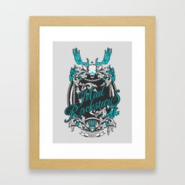 The Myth Framed Art Print