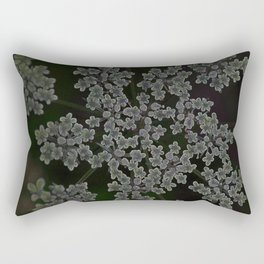 queen annes lace Rectangular Pillow