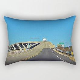 Leaving Sunset Beach Rectangular Pillow